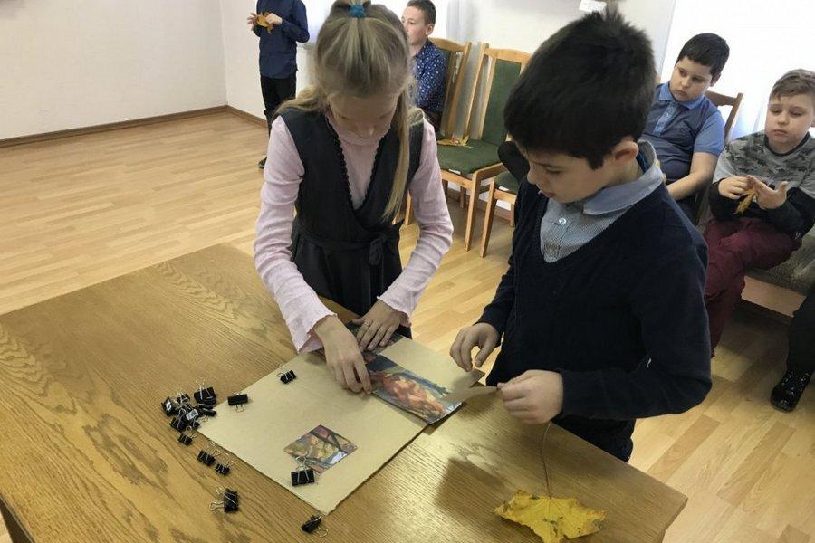 В Галерее искусств Слуцка прошла квест-игра «Здравствуй, осень золотая!» - Слуцк Деловой