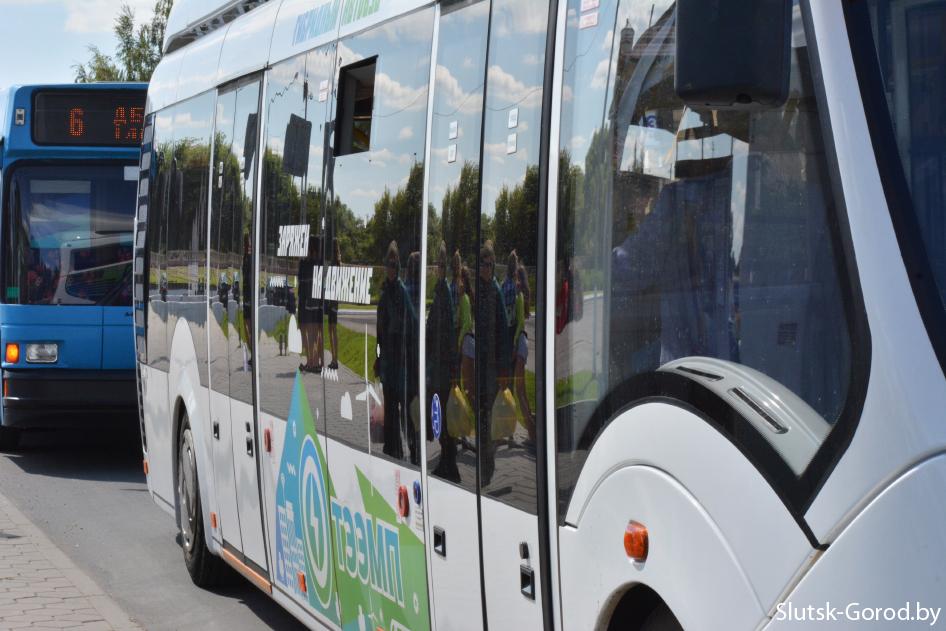 В Слуцке гибридный автобус смог достичь экономии в 14% - Слуцк Деловой